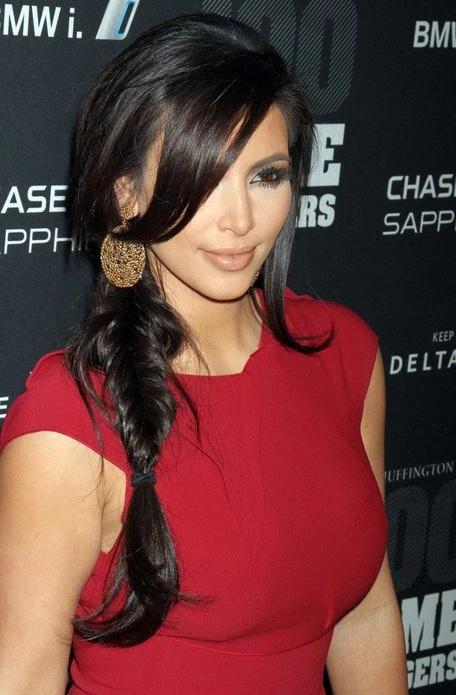 Les Meilleurs Changements Capillaires de Kim Kardashian 5