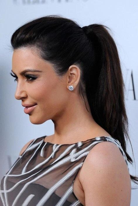 Les Meilleurs Changements Capillaires de Kim Kardashian 6