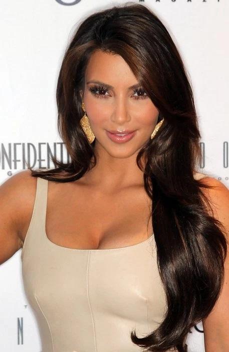 Les Meilleurs Changements Capillaires de Kim Kardashian 7