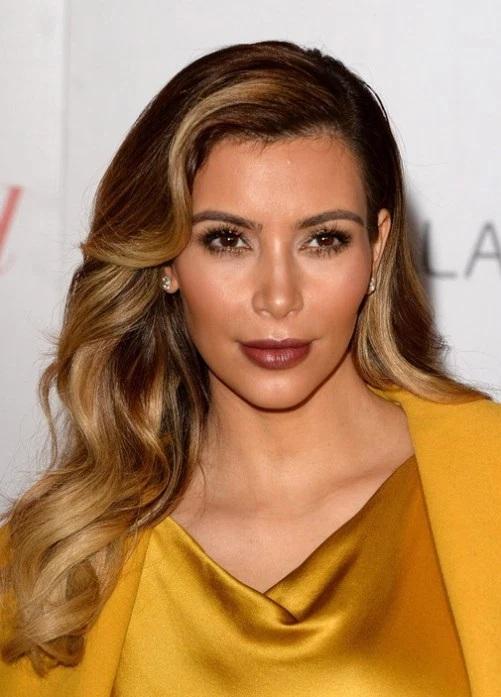 Les Meilleurs Changements Capillaires de Kim Kardashian 9