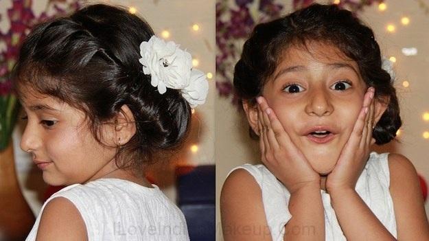 Magnifiques Coiffures Pour Petites Filles 11