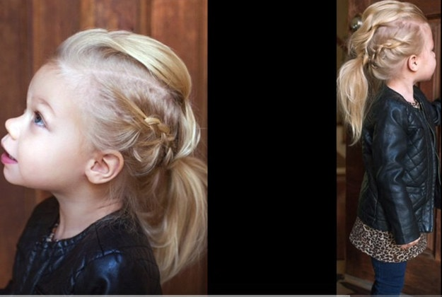 Magnifiques Coiffures Pour Petites Filles 12