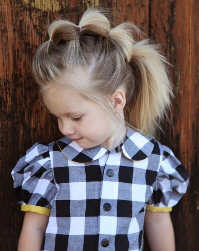 Magnifiques Coiffures Pour Petites Filles 21
