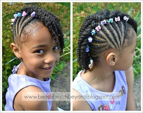 Magnifiques Coiffures Pour Petites Filles 3