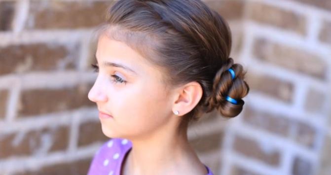 Modèles de Coiffures pour Petites Princesses 19