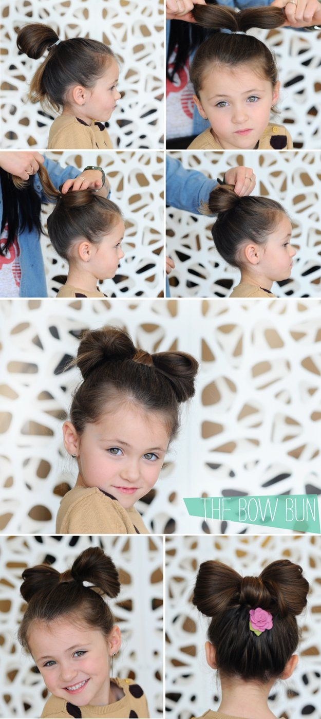 20 magnifiques mod les de coiffures pour petites princesses coiffure simple et facile. Black Bedroom Furniture Sets. Home Design Ideas