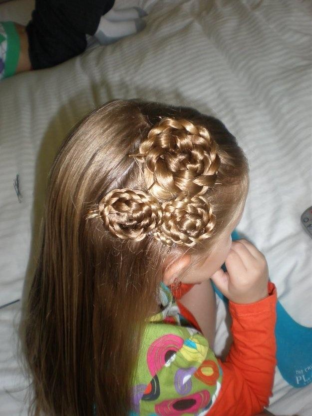 Modèles de Coiffures pour Petites Princesses 3