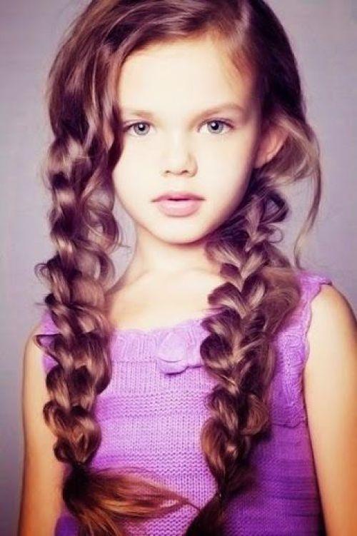 belle coiffure pour les petites filles 6