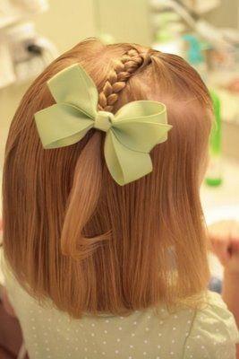 belle coiffure pour les petites filles 9