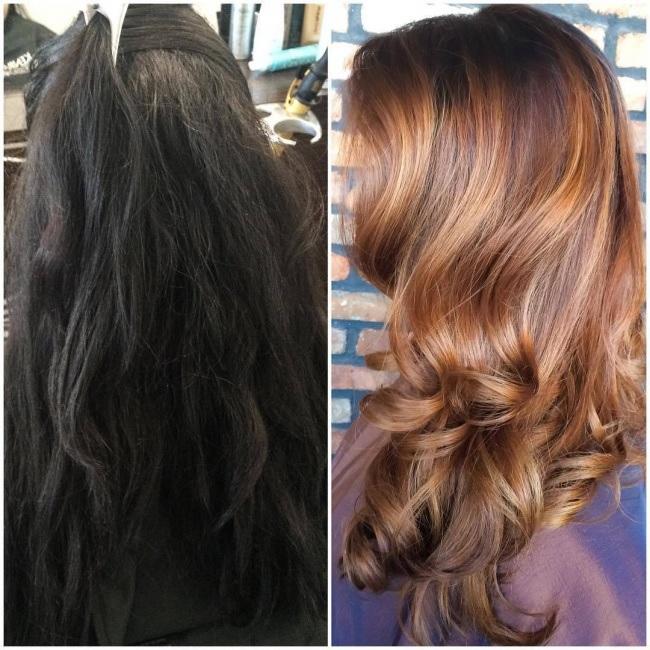 ces couleurs de cheveux sont un succès 6
