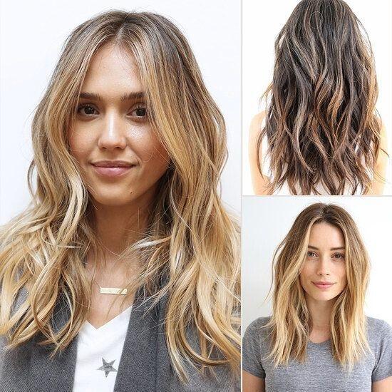 cheveux de longueur moyenne 12