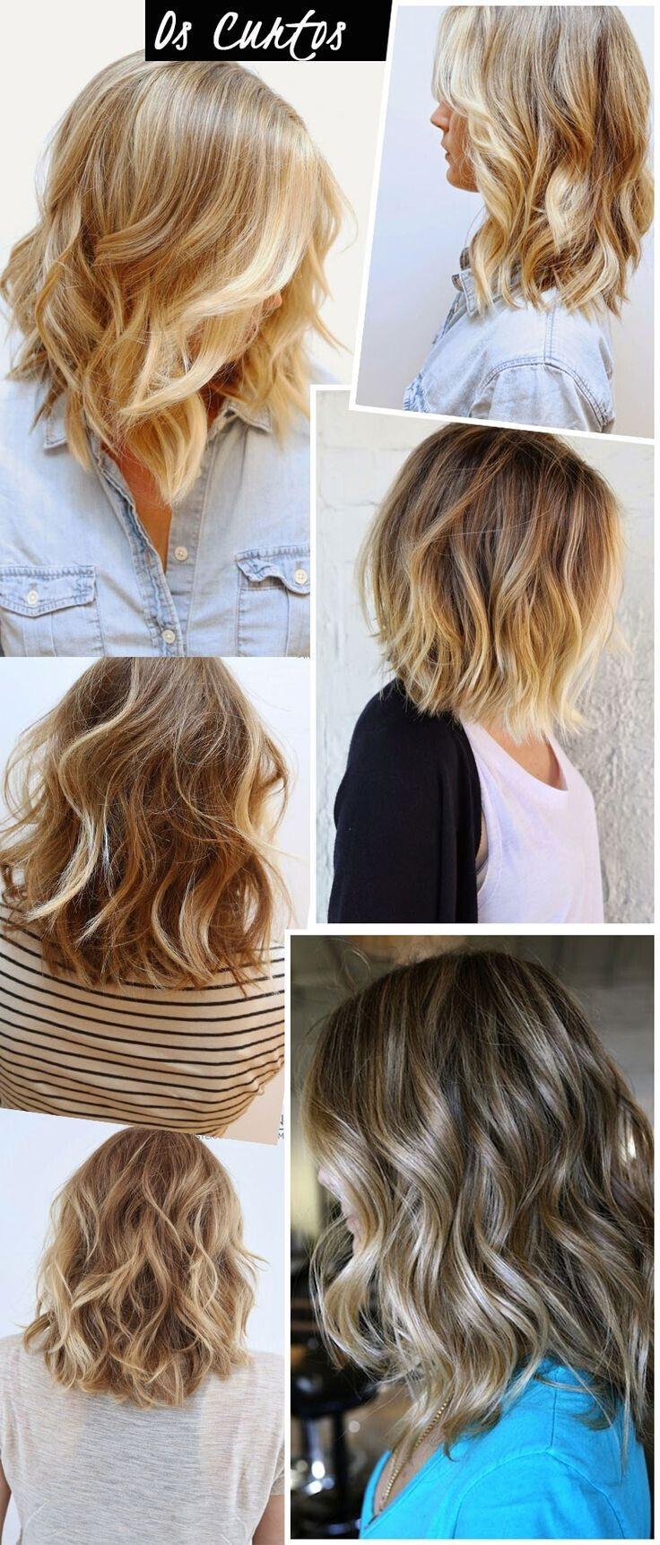 cheveux de longueur moyenne 14