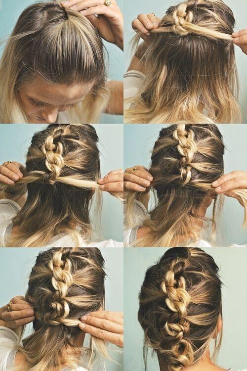 cheveux de longueur moyenne 15