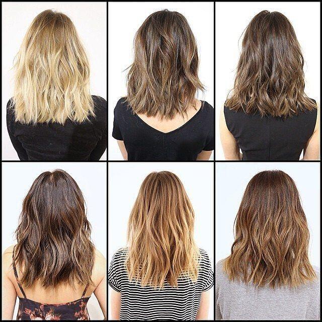 cheveux de longueur moyenne 2