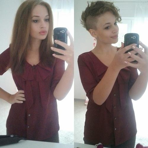 Cheveux Courts VS Cheveux Longs  8