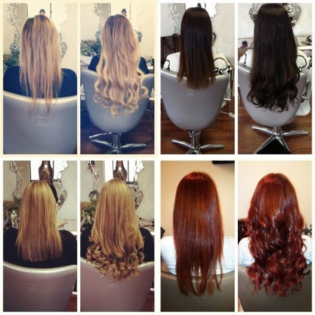 Les extensions Cheveux  2
