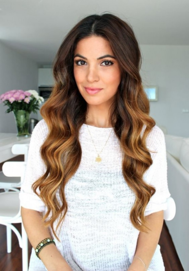 L'ombré Hair Marron Caramel  10