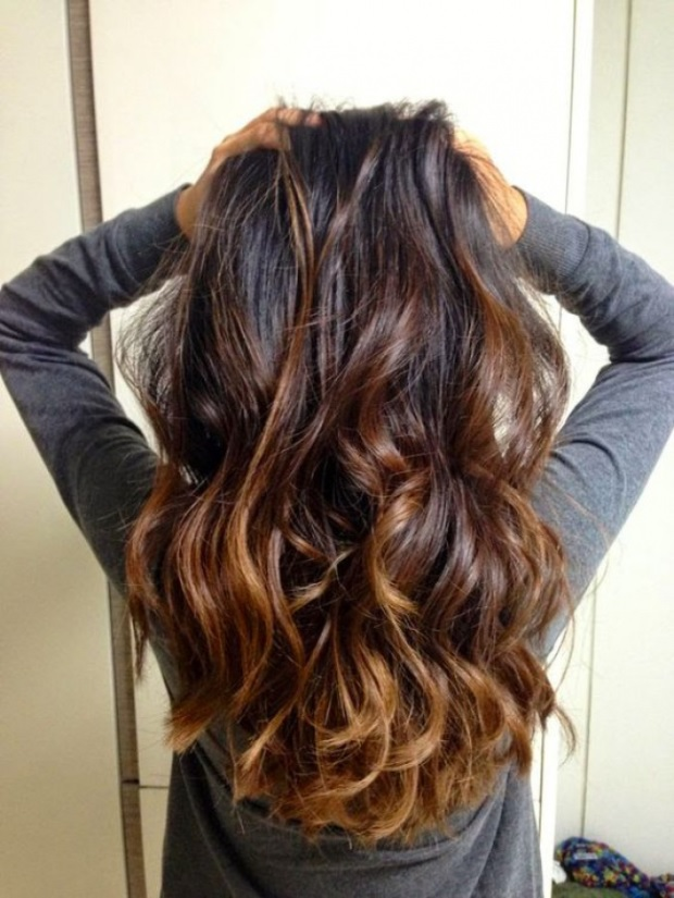L'ombré Hair Marron Caramel  13