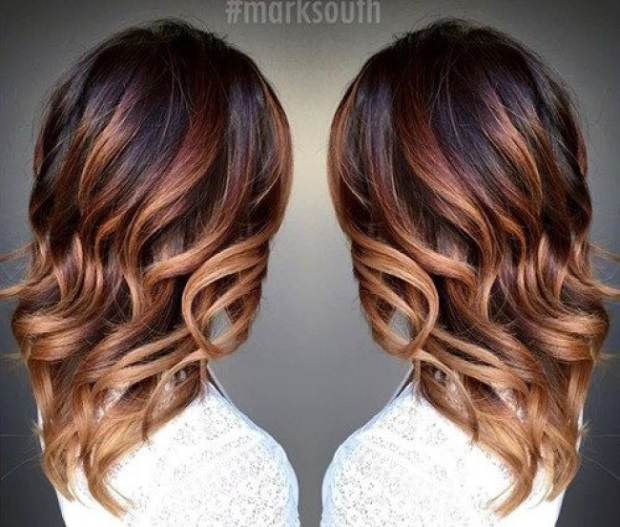 L'ombré Hair Marron Caramel  2
