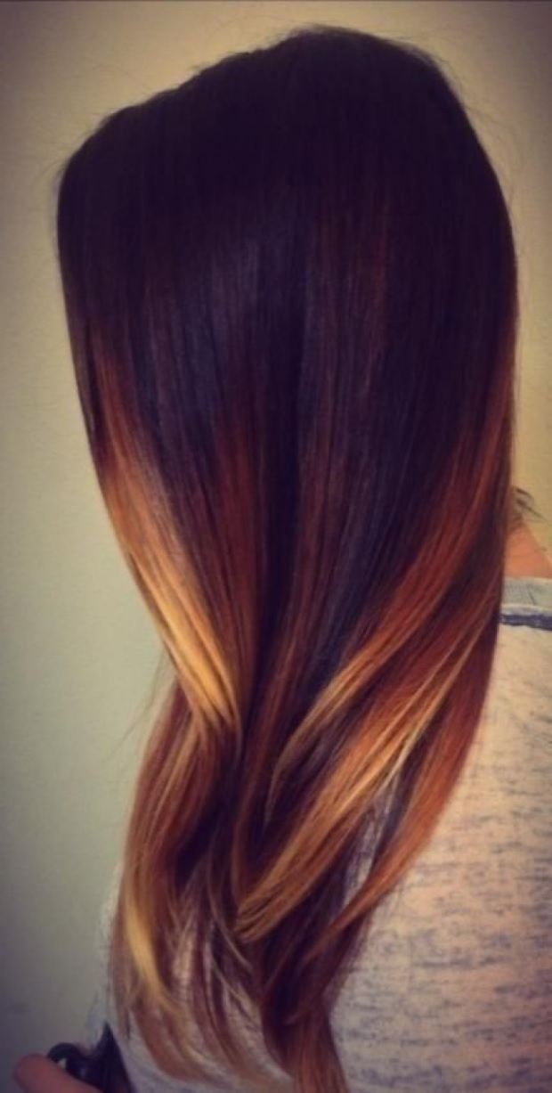 L'ombré Hair Marron Caramel  3