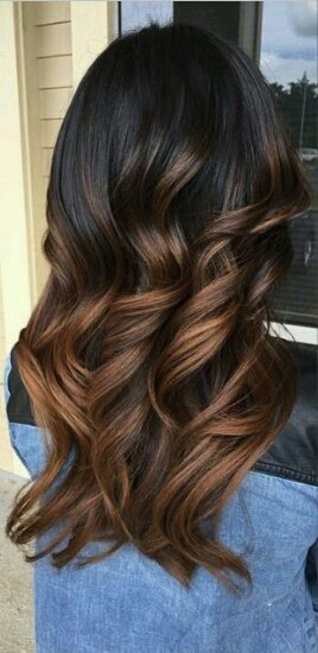 L'ombré Hair Marron Caramel  4
