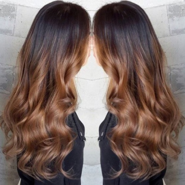 L'ombré Hair Marron Caramel  5
