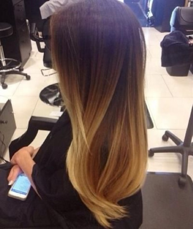 L'ombré Hair Marron Caramel  6