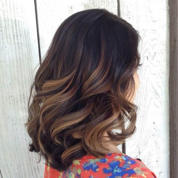 L'ombré Hair Marron Caramel  7