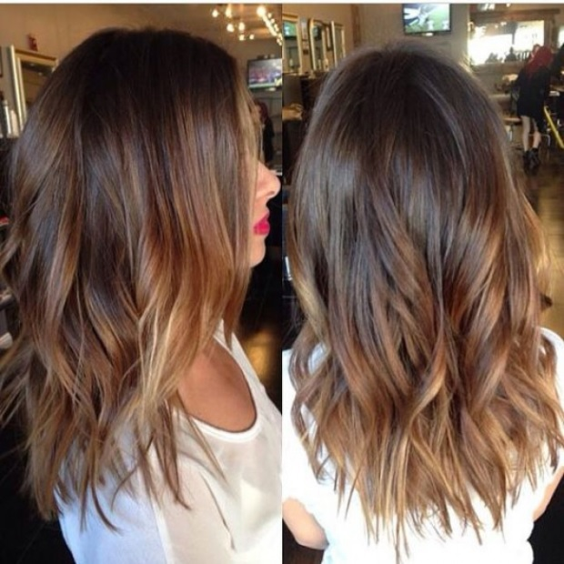 L'ombré Hair Marron Caramel  9
