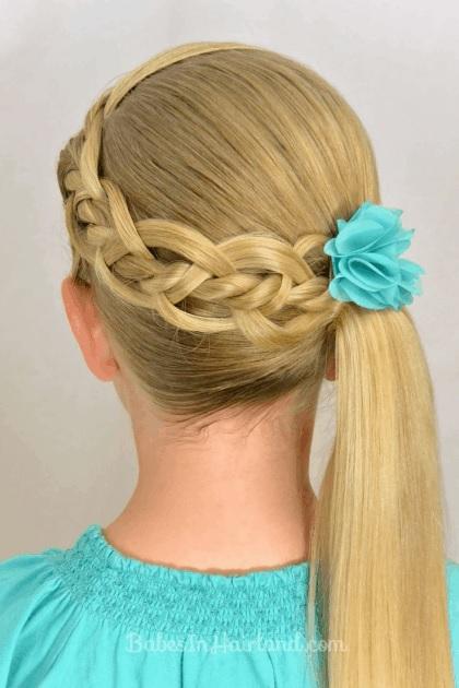 magnifiques coiffures petites filles pour la rentr e. Black Bedroom Furniture Sets. Home Design Ideas