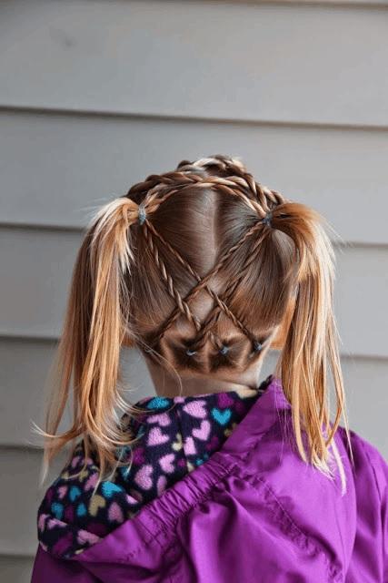 Magnifiques Coiffures Petites Filles  10
