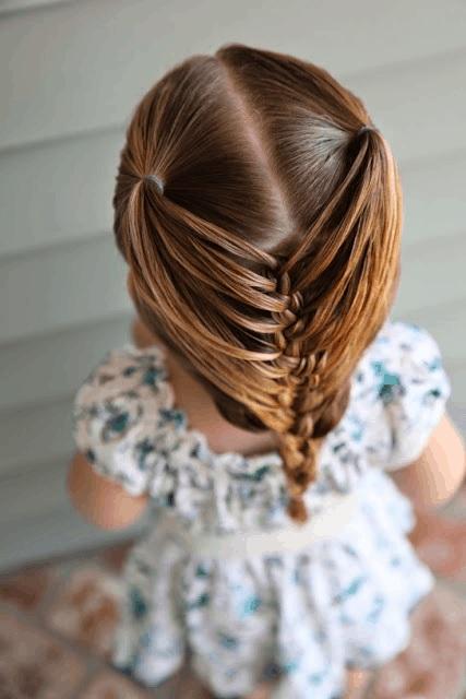 Magnifiques Coiffures Petites Filles  12
