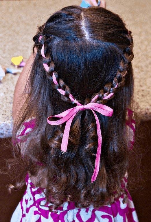 Magnifiques Coiffures Petites Filles  13
