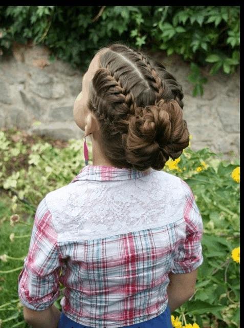 Magnifiques Coiffures Petites Filles  17