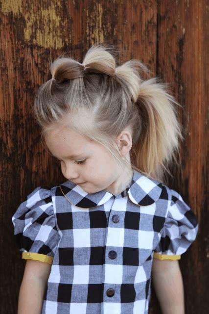 Magnifiques Coiffures Petites Filles  25