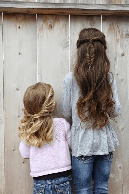 Magnifiques Coiffures Petites Filles  32