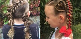 Magnifiques Coiffures Petites Filles  37