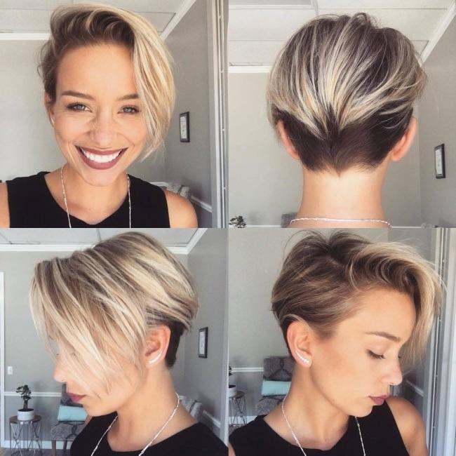 Magnifiques Couleurs Pour Cheveux Courts  11