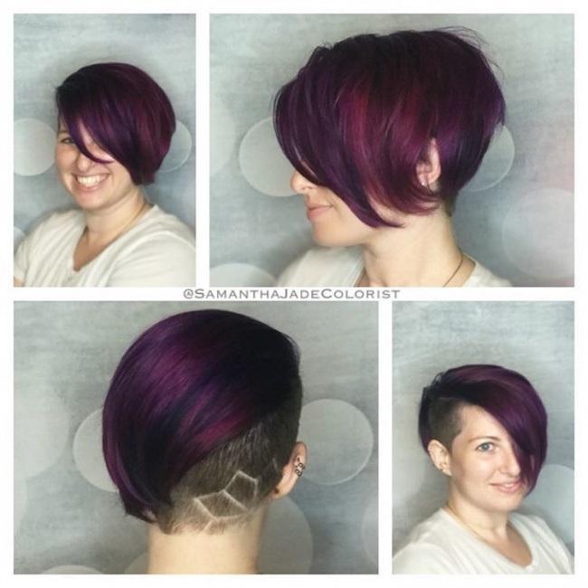 Magnifiques Couleurs Pour Cheveux Courts 13
