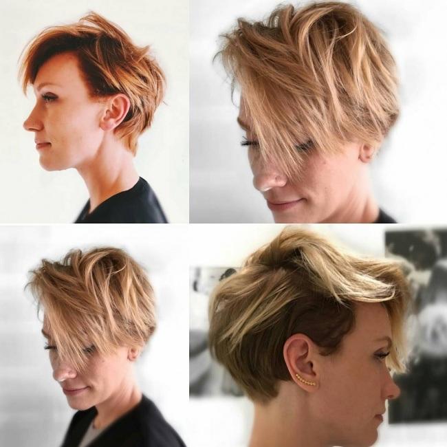 Magnifiques Couleurs Pour Cheveux Courts 17