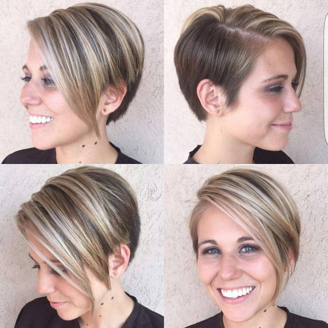 Magnifiques Couleurs Pour Cheveux Courts 19