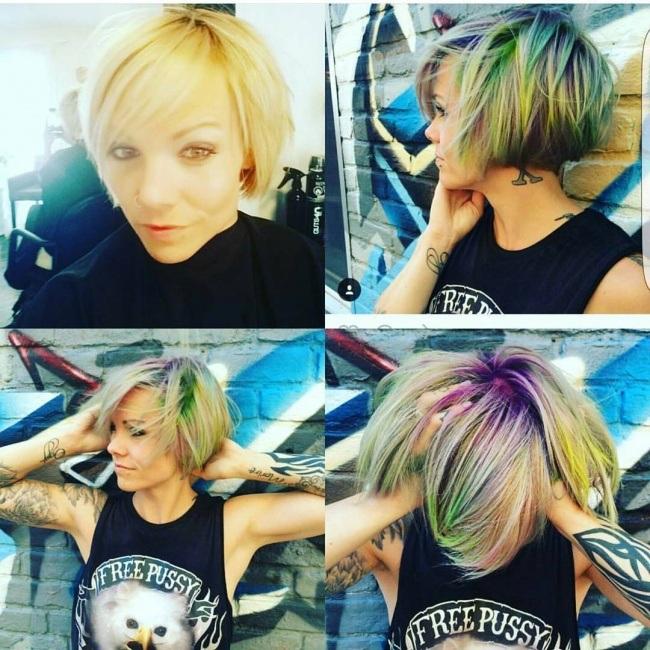 Magnifiques Couleurs Pour Cheveux Courts 21