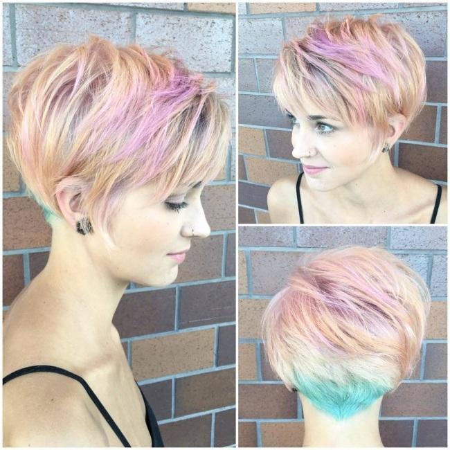 Magnifiques Couleurs Pour Cheveux Courts 6