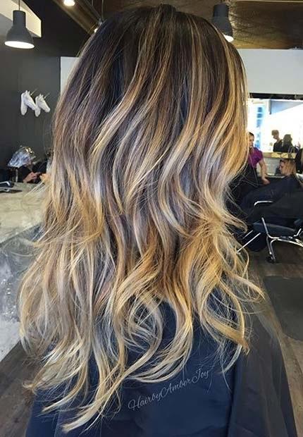 Les Meilleures Id 233 Es De Balayages Cheveux Marron Caramel