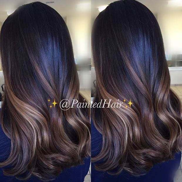 Balayages Cheveux Marron Carame 2