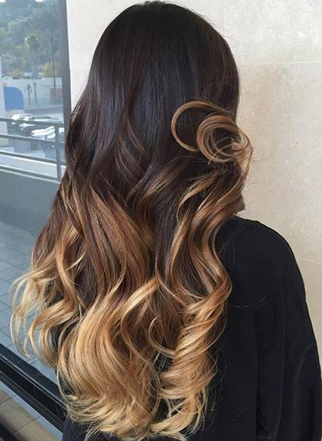 Balayages Cheveux Marron Carame 24
