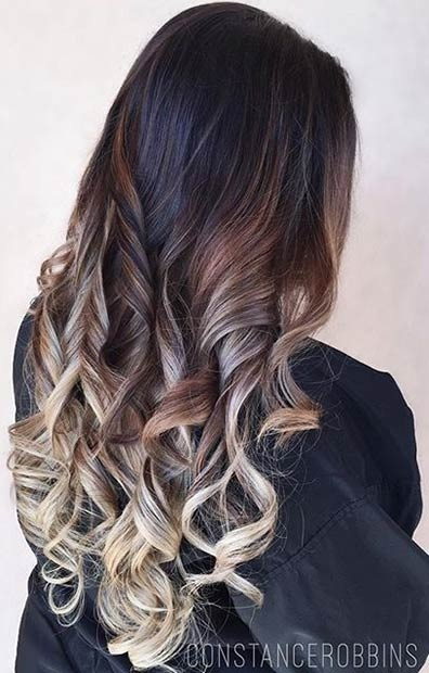 Balayages Cheveux Marron Carame 28