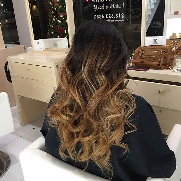 Balayages Cheveux Marron Carame 31