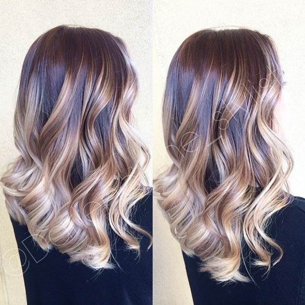 Balayages Cheveux Marron Carame 4