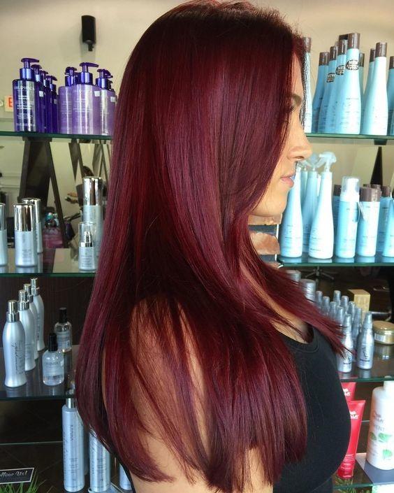 Assez Les Couleurs de Cheveux à Porter Obligatoirement Cet Automne  UI32